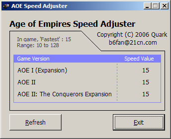 AOE Speed Adjust